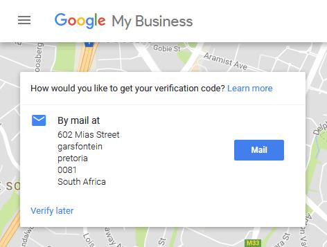 google my business listings III